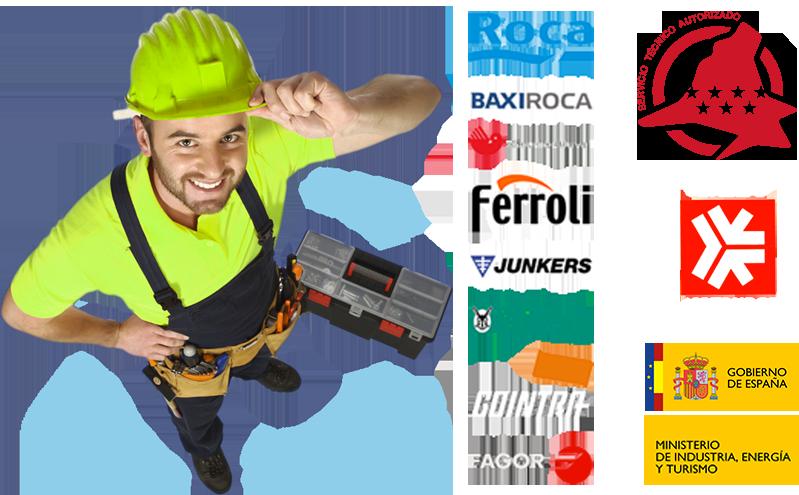 empresa especializada en mantenimiento, revision y reparacion de calderas en Villaviciosa de Odon
