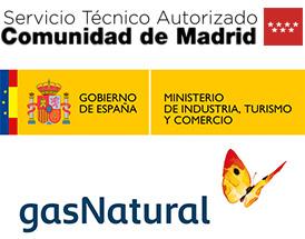 Servicio Tecnico de Calderas autorizado por la Comunidad de Madrid y el Ministerio de Industria. Instalador de gas autorizado en Villaviciosa de Odon para instalaciones de gas para Gas Natural.